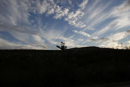 Sky Removal Brown Coal Carbon Excavators