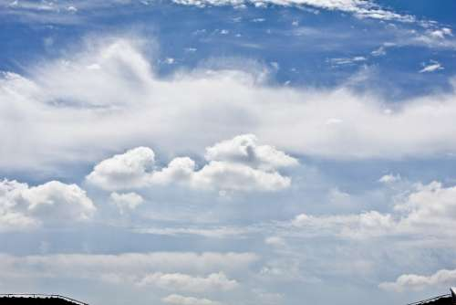 Sky White Cloud Clean Levels Of Beautiful
