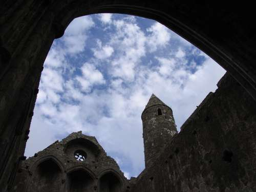 Sky Clouds Ireland Cathedral Church Opening