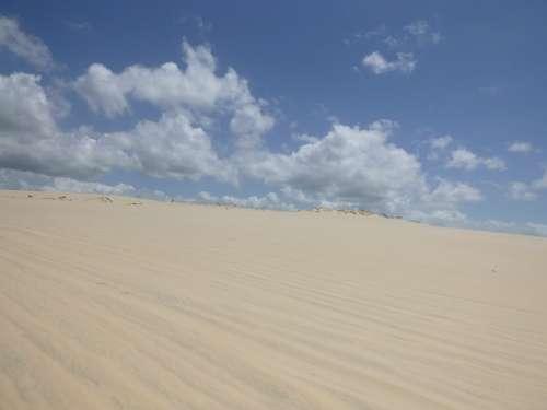 Sky Sand Clouds