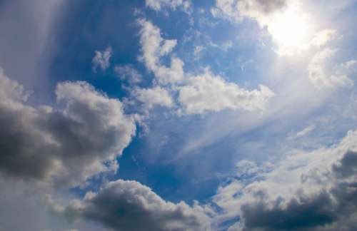 Sky Clouds Blue Weather Day Afternoon Sun