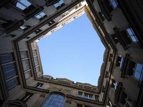 Sky Blue Sky Building Will Windows