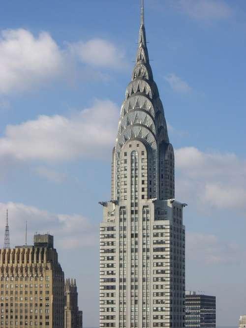 Skyscraper New York Building Architecture Buildings