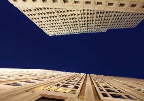Skyscraper Facade Building Architecture Window