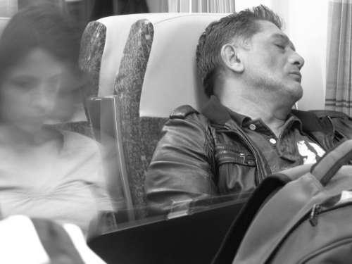 Sleep Train Man Calm Dormant Facial Rest