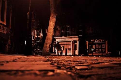 Sleeping City Sleep Night Evening Dark
