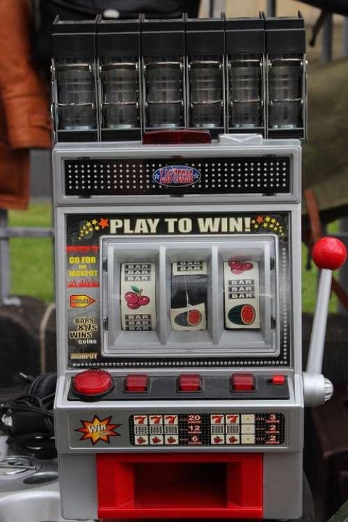 Slot Machine One Armed Bandit Play Money Gambling