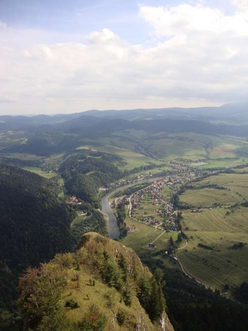 Slovakia Mountain Landscape Vacation View