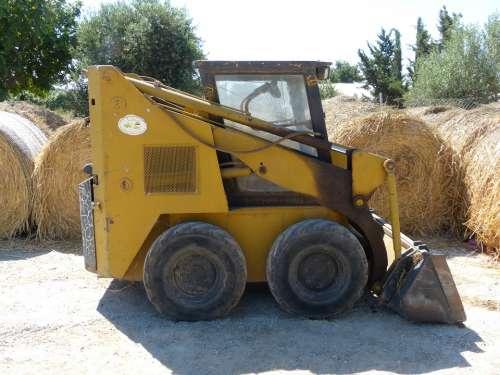 Small Machine Construction Machine Engine Yellow