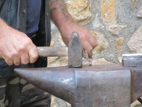 Smith Hammer Thump Anvil