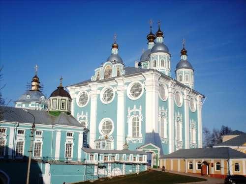 Smolensk Russia Photo Religion Architecture City
