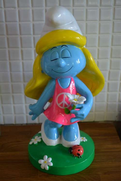 Smurfette Smurfs Cartoon Smurf Cute Cheeky