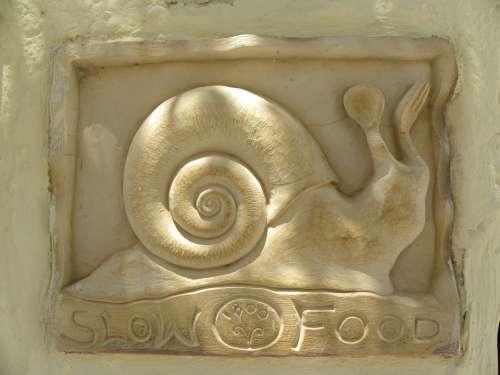 Snail Relief Restaurant Slow Food Eat Enjoy