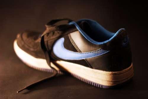 Sneakers Nike Black Fashion Footwear Boy'S Shoes