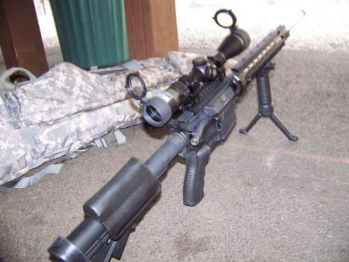 Sniper Weapon Rifle Gun Wildcat Caliber Ar Ar15