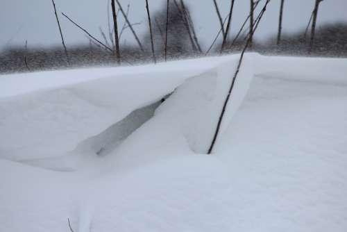 Snow Cold Snowdrift