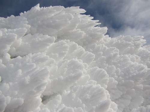 Snow Winter Ice Flakes