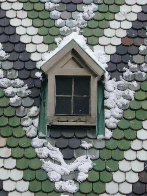 Snow Roof Winter