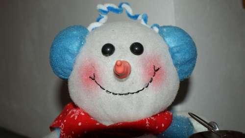Snowman Christmas Christmas Eve White Face Smile