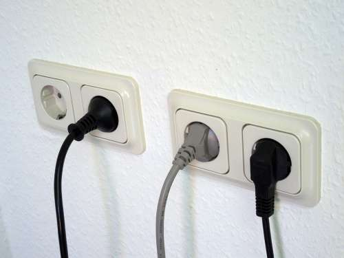 Socket Current Electricity Energy Power Consumption