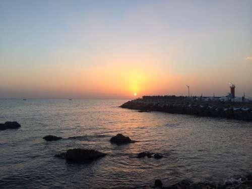 Sokcho Sea Sunrise