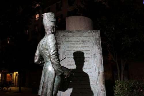 Soldier Tag Statue Monument Cast