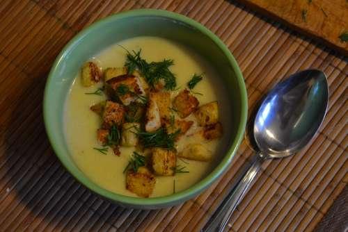 Soup Soups Dinner Cream Cream Of Chicken