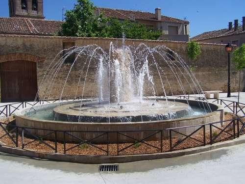 Source Park Ornamental Plaza Spain Tourism