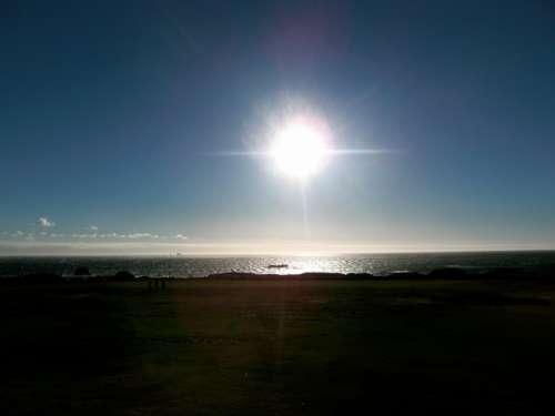 South Africa Beach Twilight Sun
