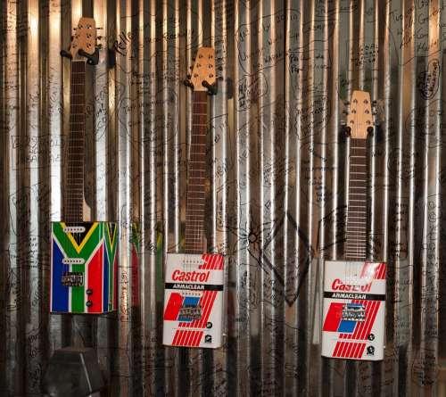 South Africa Guitar Tin