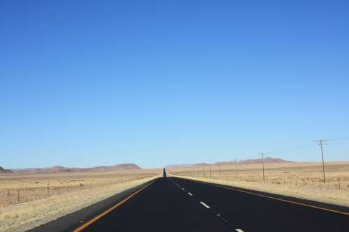 South Africa Road Vacations Street Northern Cape