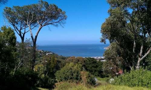 South Africa Hout Bay Sea Bay Landscape