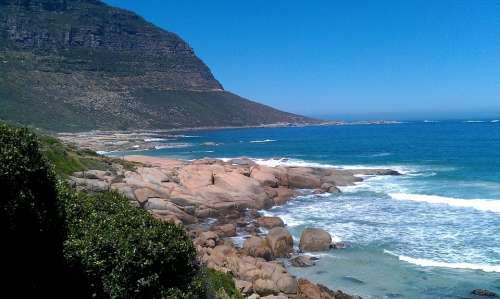 South Africa Sand Beach Llandudno Nature Africa