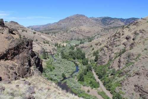 South Fork John Day River Oregon East Oregon