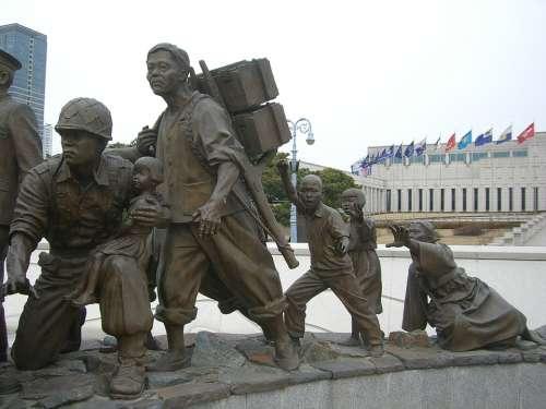 South Korea Seoul Korea Monument Memorial War