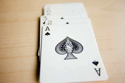 Spades Cards Card Deck Casino Poker Gambling