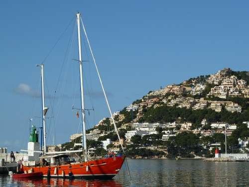 Spain Sea Mediterranean Island Coast Mallorca