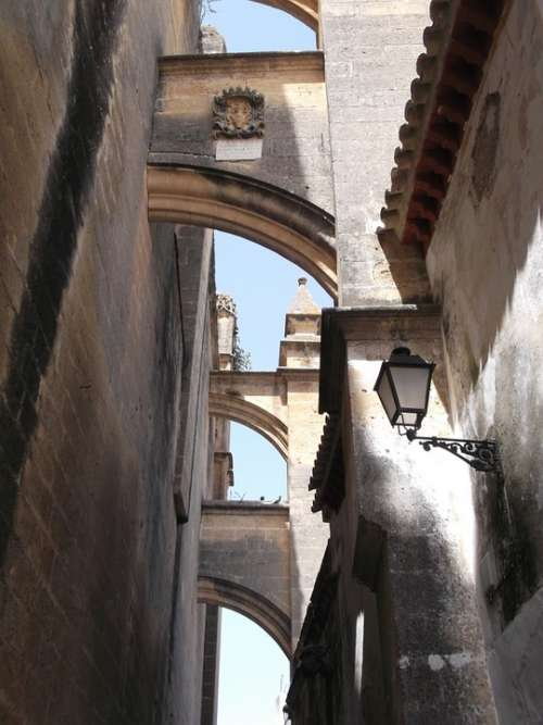 Spain Andalusia Arches City Architecture Arch