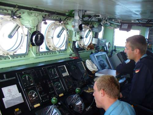 Speedboat Weasel Operations Centre Soldiers Sailors