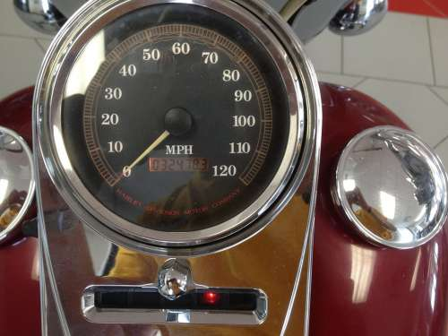 Speedometer Motorcycle Road King