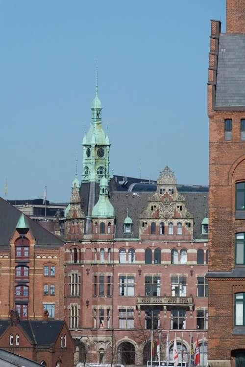 Speicherstadt Hamburg Building Brick