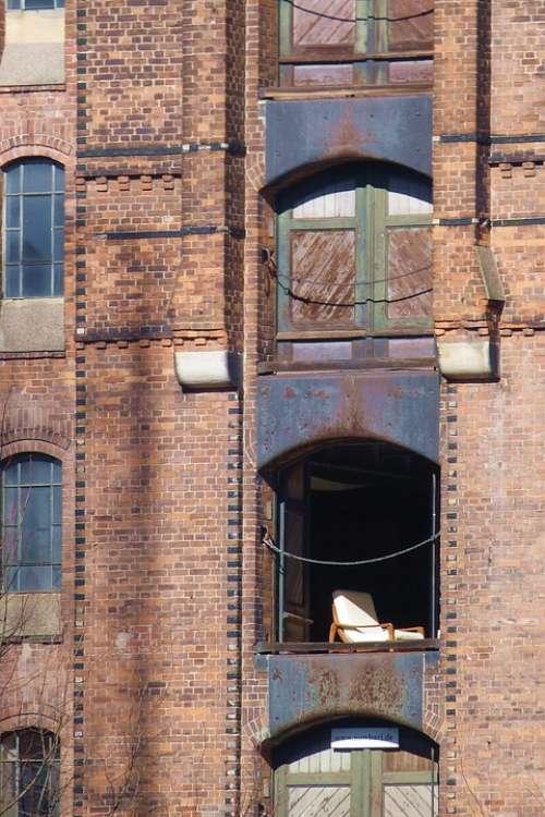 Speicherstadt Brick Building Hamburg