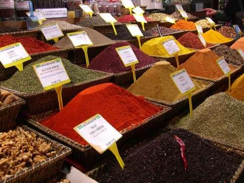 Spices Istanbul Bazaar Curry K Prabha