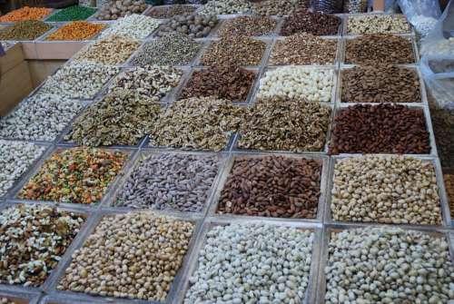 Spices Market Eat Beans Market Stall Dealer