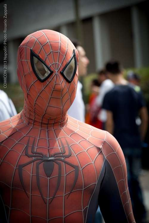Spider Man Comicon Comix Naples
