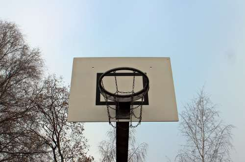 Sport Basketball Basket Basketball Hoop Outside