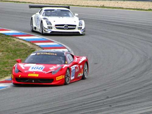 Sports Automobiles Driving Vehicles Gt Racing Car