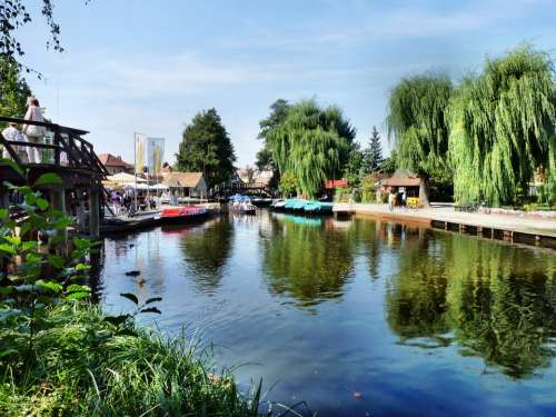 Spreewald Lübbenau River Spree Rowing Port Water