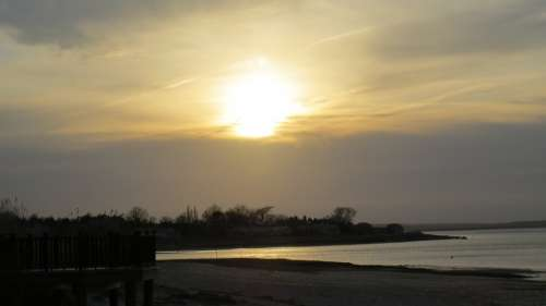Spring Harbor Barnstable Harbor Cape Cod Sunset