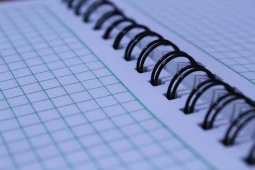 Spring Notebook Paper Spring Black Spring